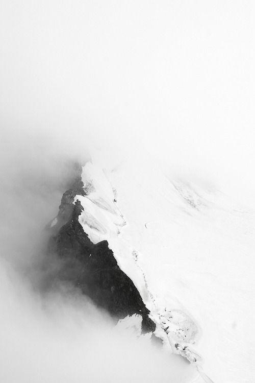 Aerial Mountain range.