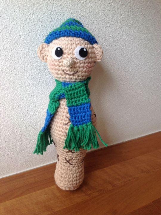 """Crochet """"Snøvsen"""""""