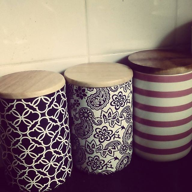 """<a href=""""http://www.kmart.com.au/product/dipped-canister-with-oak-lid---yellow/708875"""" target=""""_blank"""">Canister</a> - $5"""