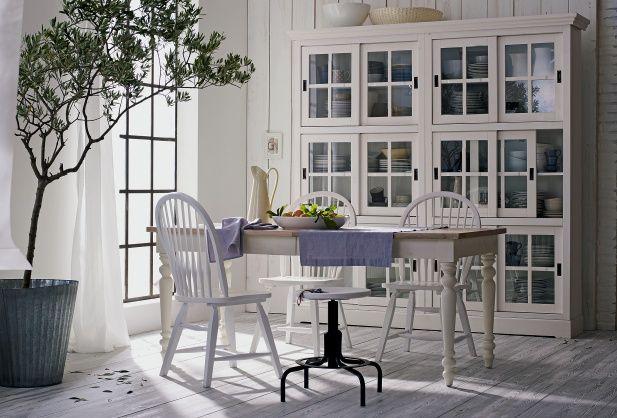 ber ideen zu esstisch landhausstil auf pinterest esstisch industriedesign indische. Black Bedroom Furniture Sets. Home Design Ideas
