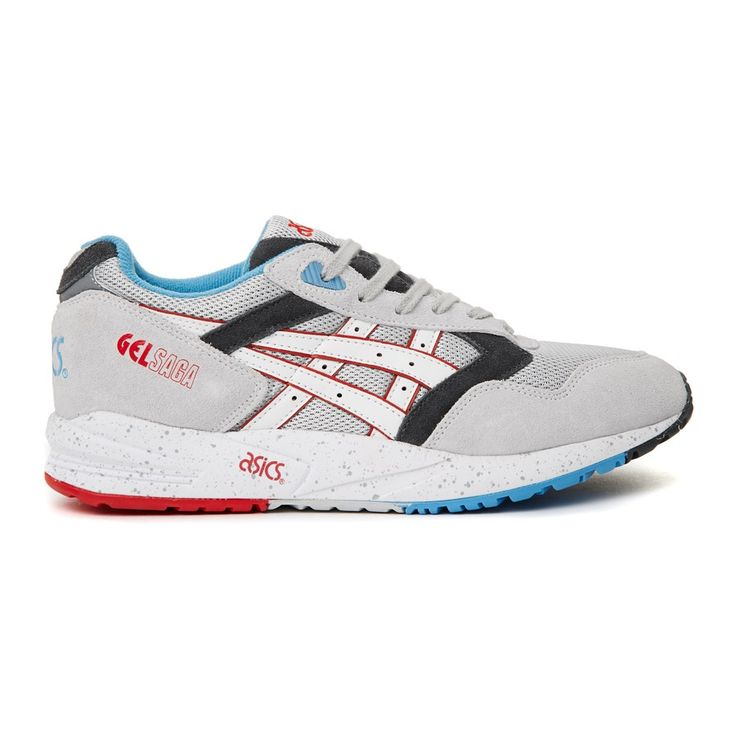 Asics Gel-Saga H434N-1001 Sneakers — Running Shoes at CrookedTongues.com