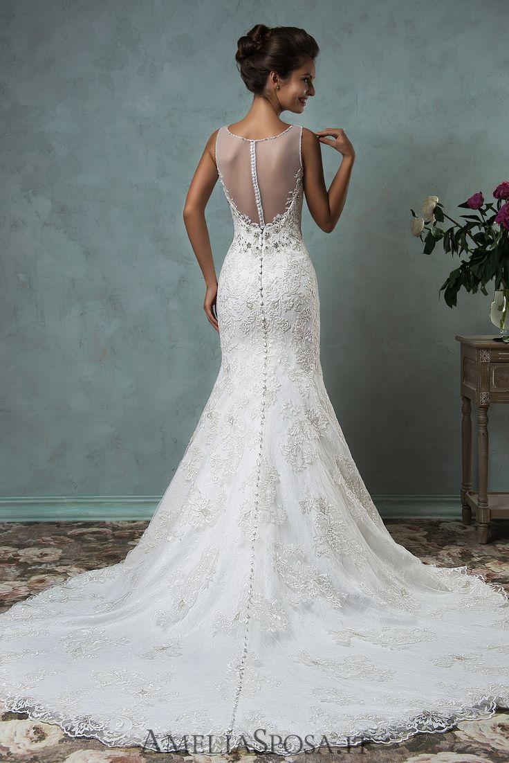 Wedding Dress Victoriya, Silhouette: Mermaid / Trumpet