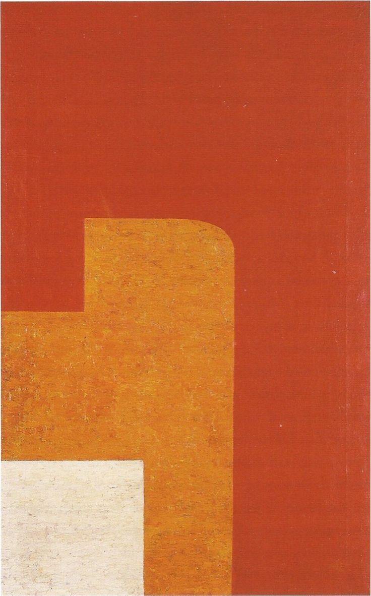 Wladyslaw StrzeminskiComposition architecturale 13C / Architectural composition 13CHuile sur toile / Oil on canvas96 x 60 cm1929