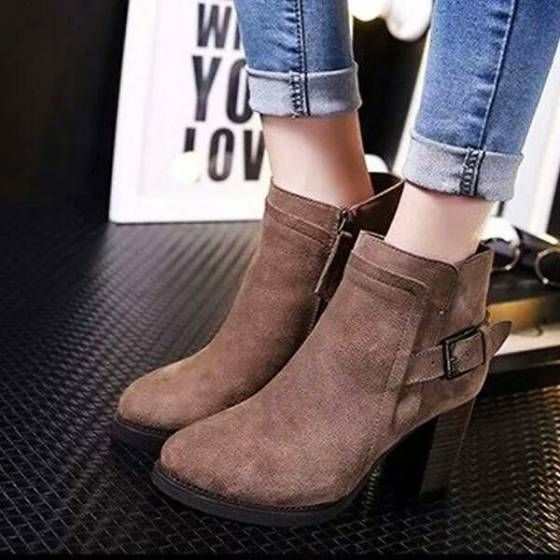 Shopo.in : Buy Brown Boots online at best price in Gurgaon, India