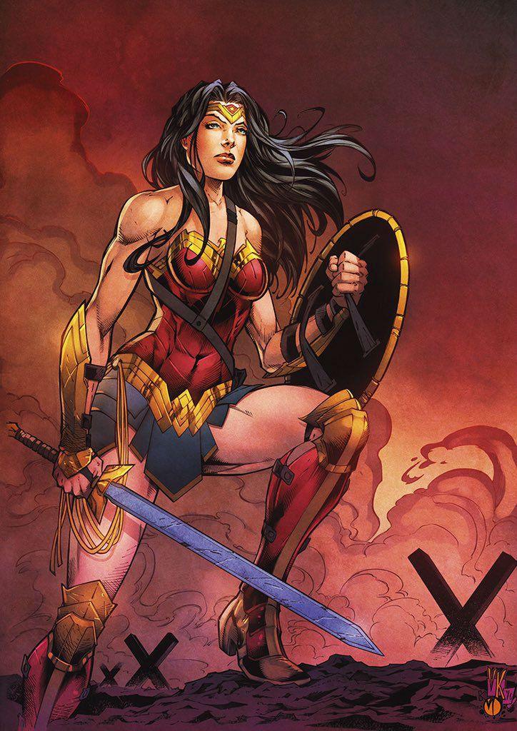 Wonder Woman by V Ken Marion