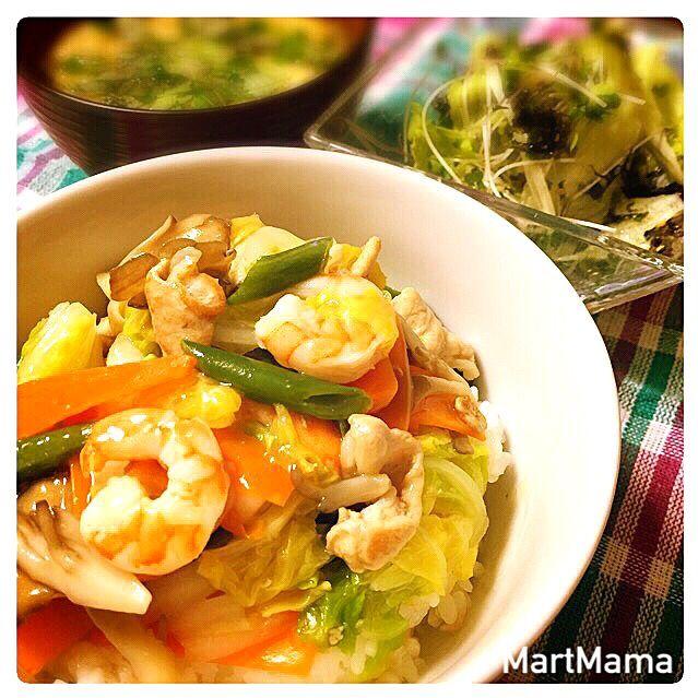 中華丼もひろちゃ〜〜んが昨日作ってたので真似っこ( ̄▽ ̄)簡単まいう〜な時短レシピをいつもありがとう!ホントに助かってます! ◼︎鍋の余り野菜で♡中華丼 ◼︎大葉がイイ感じの味噌汁 ◼︎ブロスプ入り♡韓国海苔サラダ - 195件のもぐもぐ - ひろさんの料理 レタスと韓国海苔のサラダ♡ by MartMama
