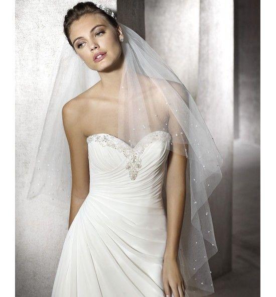 Zafiro, vestido de novia San Patrick elegante y delicado