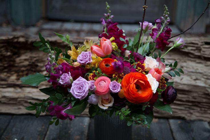 Toronto Flower Delivery - Large Vase Arrangement- Wild North Flowers