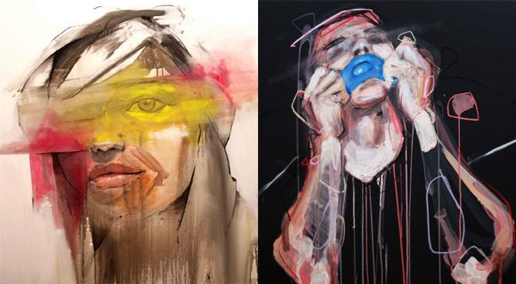 Set Yourself Free: 30+ Mixed Media #Paintings by #LouRos