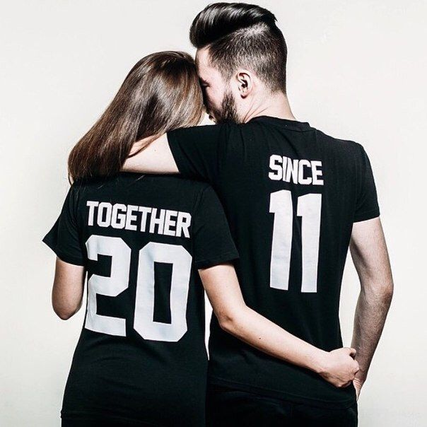 "Couple T-shirts set ""Together Since"" set of 2 couple T-shirts custom couple shirts set of 2 couple shirts 100% cotton by FunnyWhiteTshirt on Etsy https://www.etsy.com/listing/252030058/couple-t-shirts-set-together-since-set"