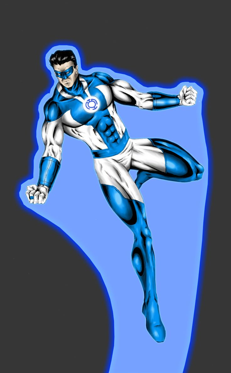 Blue Lantern Hal Jordan