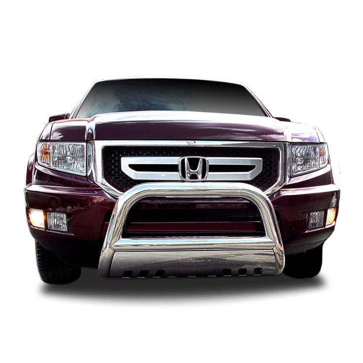 2003 - 2008 Honda Pilot Stainless Steel (Silver) Bullbar (Stainless Steel)