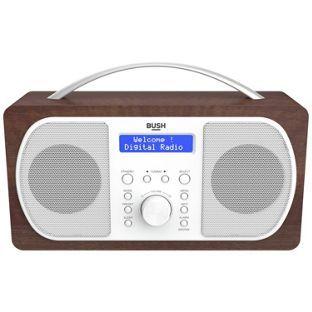 half price Buy Bush DAB Radio - Walnut at Argos.co.uk, visit Argos.co.uk to shop online for Radios