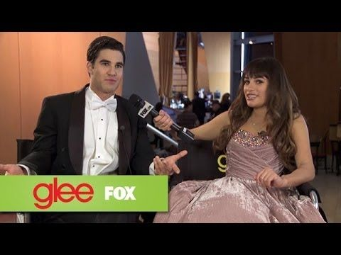 Brain Busters Outtakes: Lea's Turn | GLEE...  Lea don't ask that boy lyrics.  He can't even remember the ones to songs he has written!