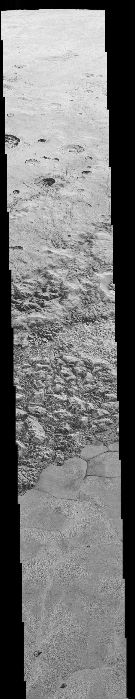 Neue NASA-Bilder: Erkunden Sie die Oberfläche von Pluto - DIE WELT