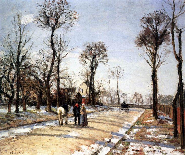 Camille Pissarro | Snow Effect | Tutt'Art@ | Pittura * Scultura * Poesia * Musica |