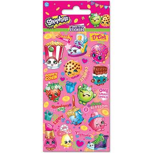 Shopkins Party Sticker Pack