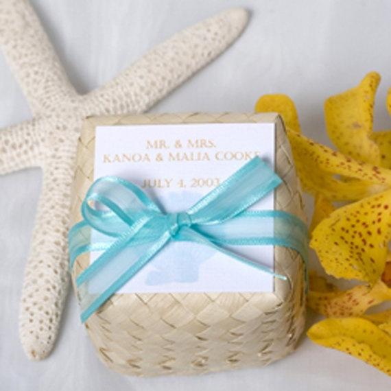 I love the idea of giving soap as a favor. #favor #beach #wedding #beachwedding #weddingfavor