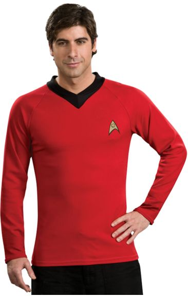 Adult Star Trek Classic Deluxe Scotty Shirt   Jokers Masquerade