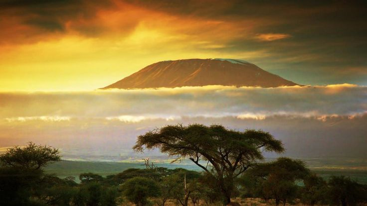 Гора Килиманджаро в Танзании