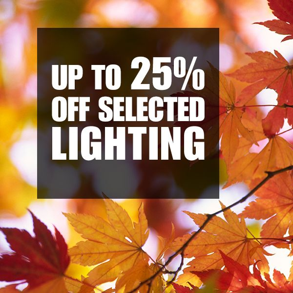 We've got some great lighting deals on the special offers page of our web site at https://fairtradelifestyle.co.uk/Special_Offers with up to 25% off selected lamps. Ends 31st October 16, subject to stock availability.