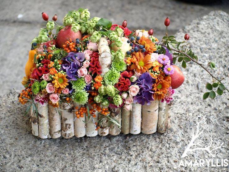 aranjament floral #amaryllis