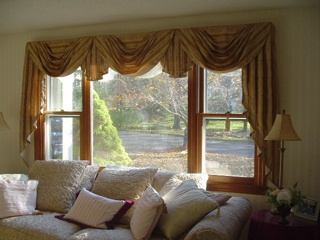 Classic Swag And Jabot Window Treatment Designs By