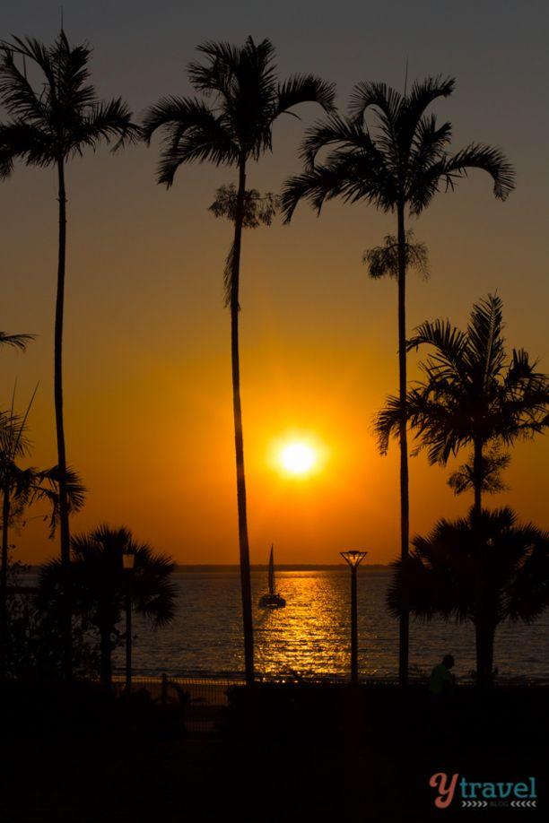 Sunset in Darwin, Northern Territory, Australia