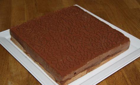 Recette de Royal Chocolat (toile silpat, moule flexipat carré et toile décor labyrinthe FI 2001) - i-Cook'in