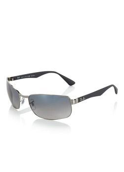 Ray-Ban Heren zonnebril met gepolariseerde glazen met licht kleurverloop
