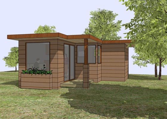 This tiny house could be made even tinier to become my perfect potting shed and equipment house