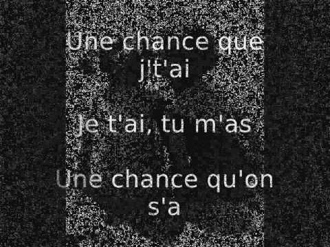 Une Chance Qu'On S'a - Jean-Pierre Ferland Lyric (paroles)