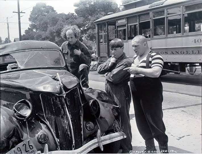 Who Wreaked The Car Vintage Cars The Three Stooges Old Vintage Cars