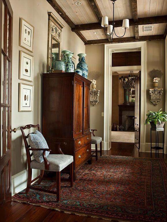 25 beste idee n over beige muren op pinterest beige kleuren verf neutrale verfkleuren en - Donkere gang decoratie ...