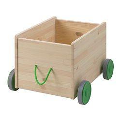 FLISAT Lekeoppbevaring med hjul - - - IKEA