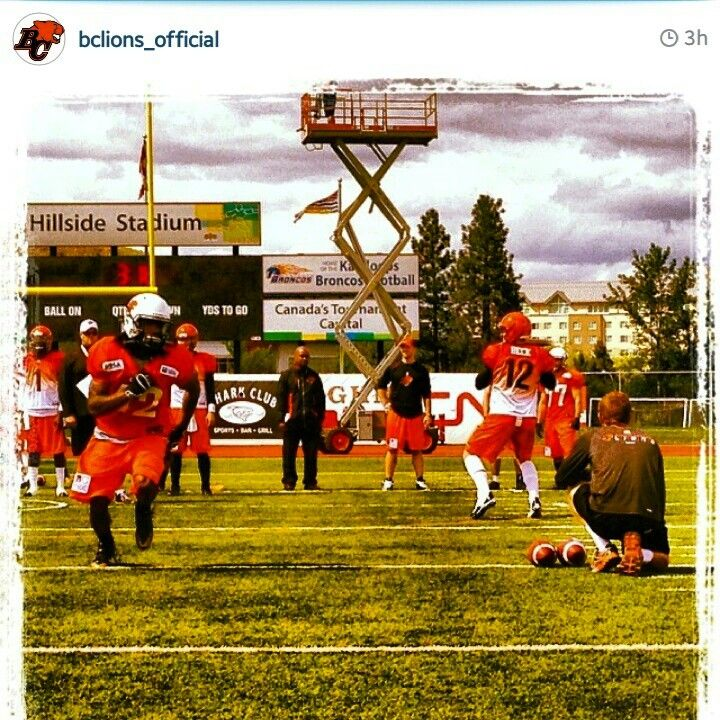 Bc lions rookie camp