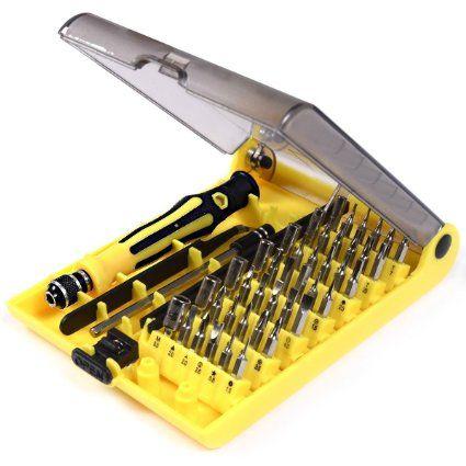 45 in 1 Mobile Phone Repair Kit Screwdriver Tool Set for Most Phones