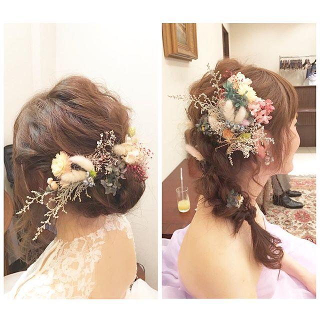 ♧ ウェディング↔︎カクテルドレス ルーズに強い、 北山ウェディングストリート( ´∀`)! hairstyling:#misatohori #takamibridal#wedding#bridesmaid#hairmake#hairarrange#weddingphoto#weddingflower#parmed#weddingdress#weddinghairstyle#hairstylie#parm#ブライダルヘアメイク#タカミブライダル#ヘアメイク#ヘアアレンジ#ヘアセット#結婚式#花嫁ヘア#パーマ#プレ花嫁#ヘアスタイル#髪型#ルーズヘア#ブライズヘアメイク#アップヘア#ウェディングドレス#前撮り