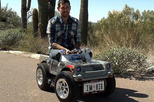 Chevrolet 1957', el auto más pequeño del mundo. Obtuvo el reconocmiento mundial de Guinness