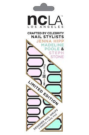 Ncla Orbit Ring Nail Wraps