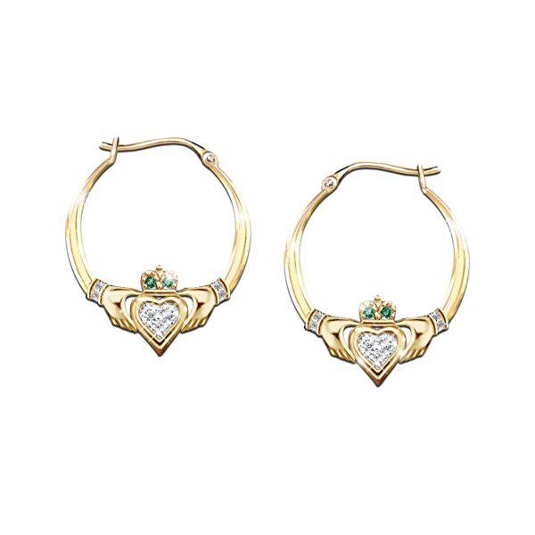 Blessings Of The Emerald Isle Earrings