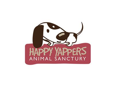 """Check out new work on my @Behance portfolio: """"Happy Yappers Animal Sanctury"""" http://be.net/gallery/53165413/Happy-Yappers-Animal-Sanctury"""