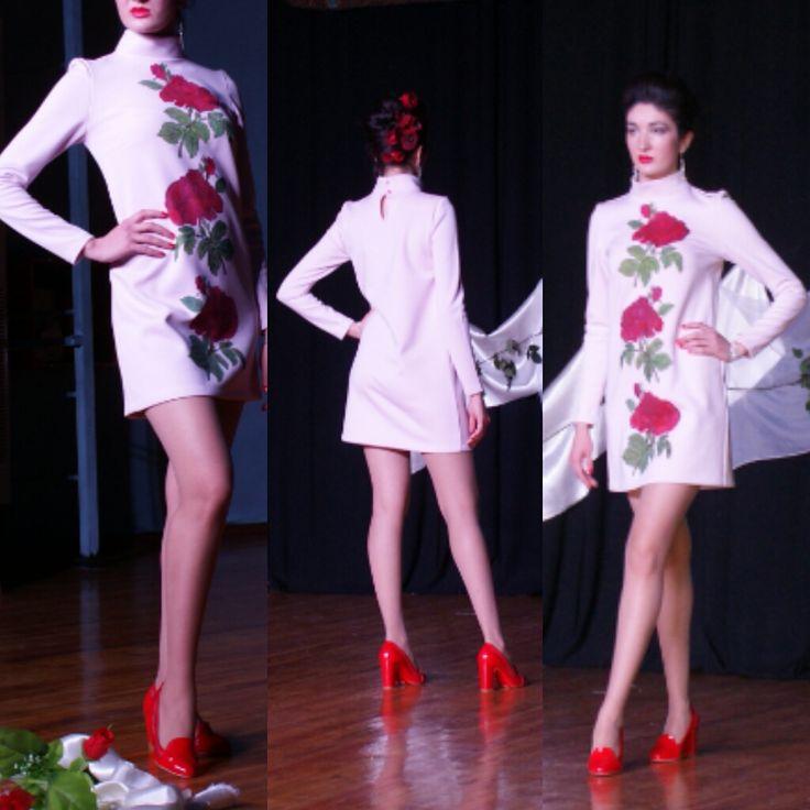 """""""ROSES ON SNOW"""" 2016 Lyubov Shadmanova"""
