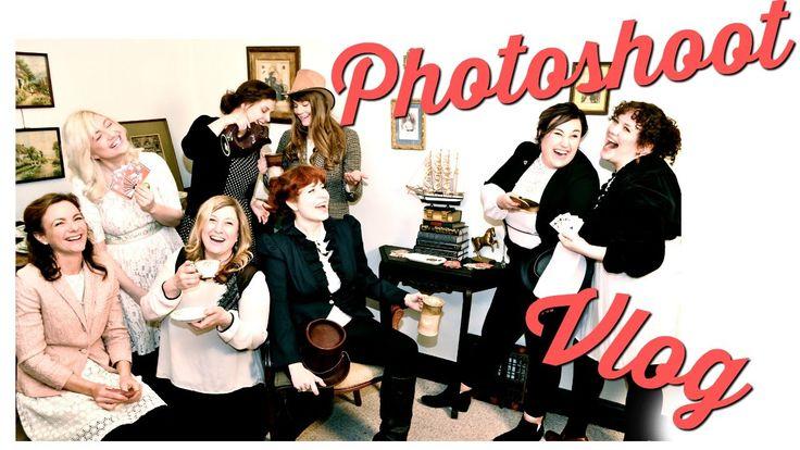 Photoshoot Vlog -  Improvised Jane Austen Photoshoot