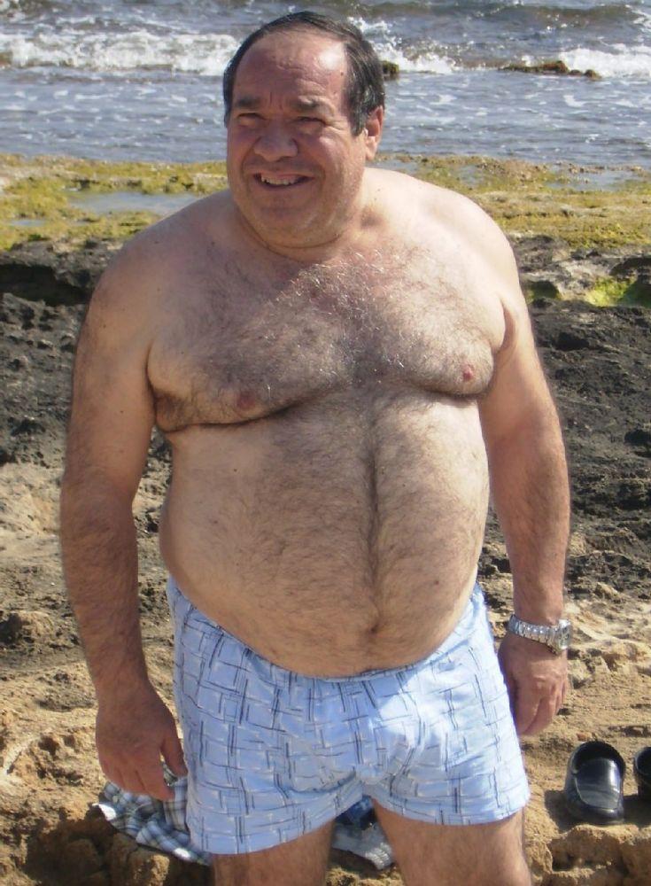 chubby grandpas on the nude beach