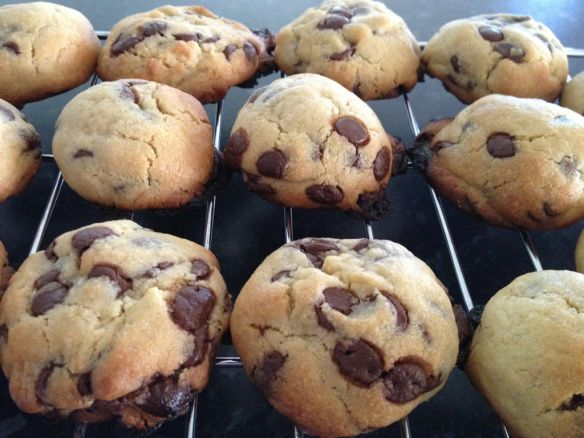 Chewy Chocolate Chip Cookies in the Thermomix.