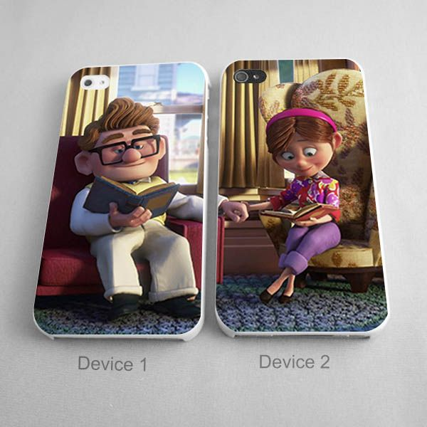 Carl and Ellie phone case http://artbetinas.com/collections/couples-phone-case