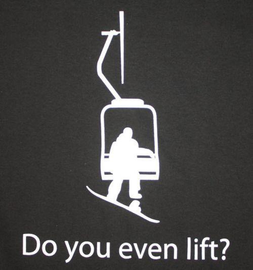 Do you even lift? Hehe