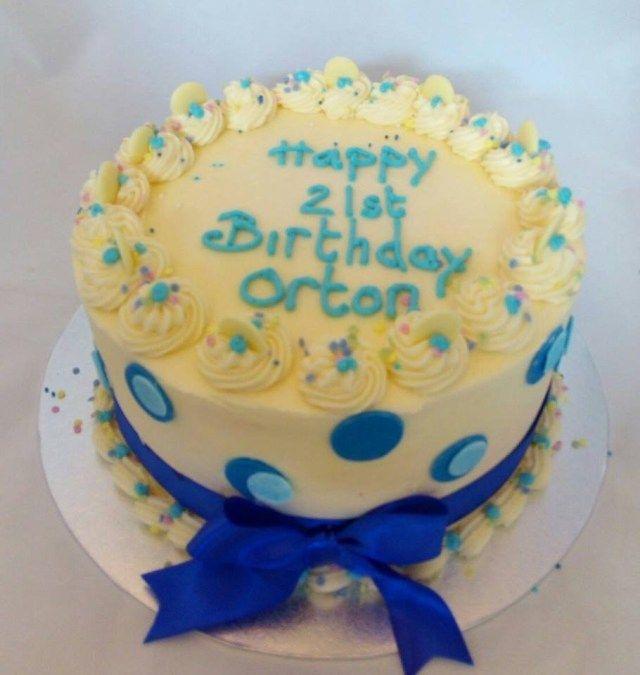 21 ans et plus brillante photo du gâteau d'anniversaire Red Velvet London. Anniversaire velours rouge …   – birthday cake easy