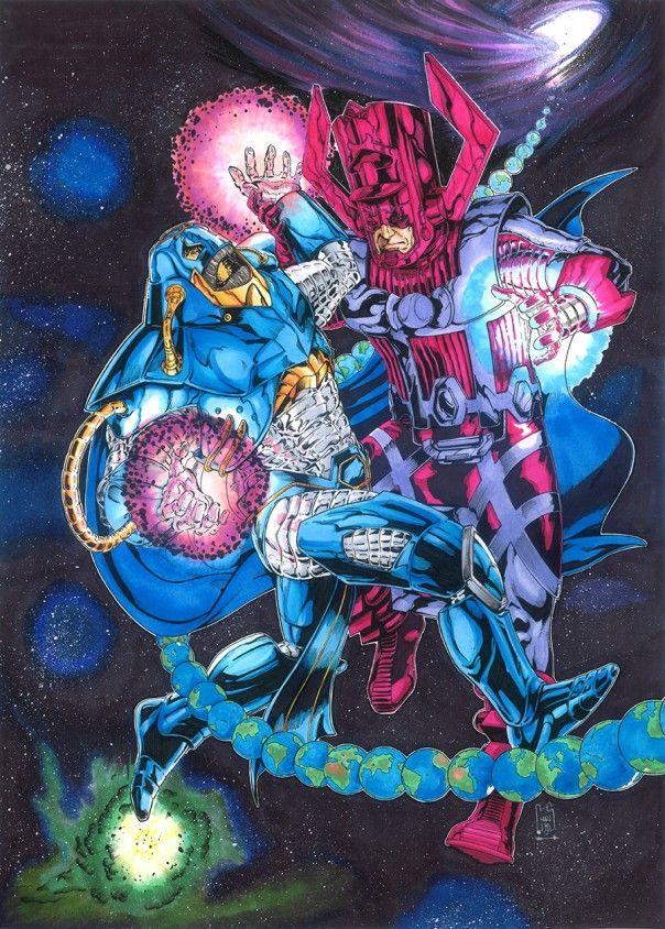 Marvel vs DC by Christiano Flexa - Wednesday's Heroes